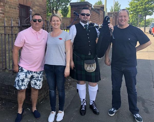 Swiis Dundee 30th Birthday Celebrations